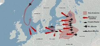 Why Russia won't invade the Ukraine, the Baltic statelets or anybody else
