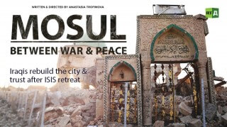 Mosul Between War & Peace: Iraqis rebuild the city & trust after ISIS retreat