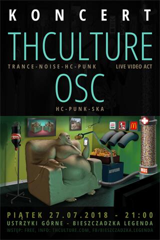 Concert THCulture and OSC - Ustrzyki Górne - BIESZCZADZKA LEGENDA - 27.07.2018