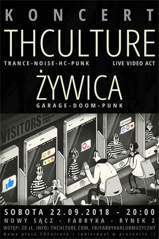 Concert THCulture and Żywica - Nowy Sącz - FABRYKA - 22.09.2018