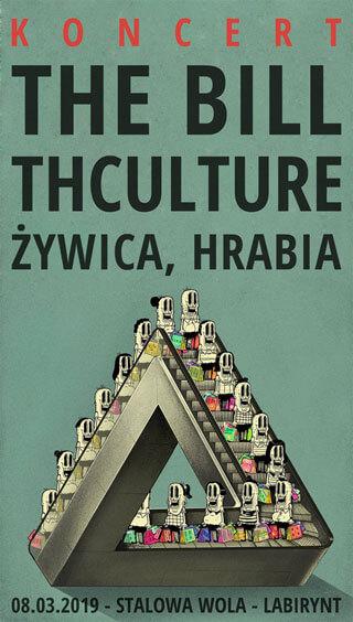 Concert THCulture, Żywica, The Bill, Hrabia - Stalowa Wola - Labirynt - 08.03.2019