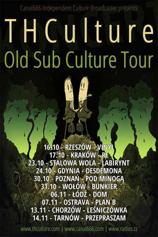 Trasa THCulture - Old Sub Culture Tour