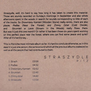 Album CD Pitz - Straszydle