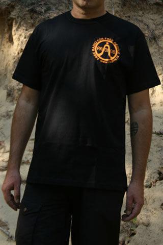 T-Shirt Man Radios Logo Black