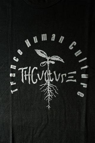 T-Shirt Man THCulture Logo Big Black