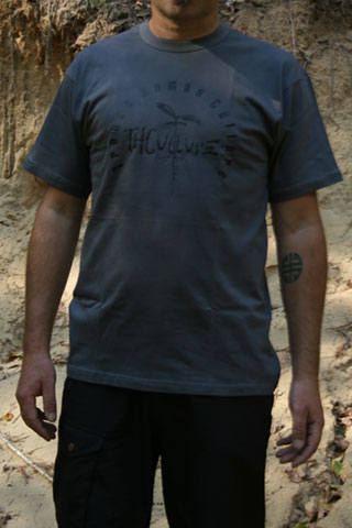 T-Shirt Man THCulture THCulture Logo Big Gray