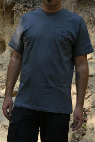 T-Shirt Man THCulture Logo Gray
