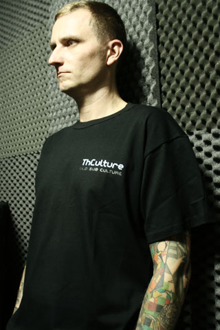 T-Shirt Man THCulture Old Sub Culture Black Small
