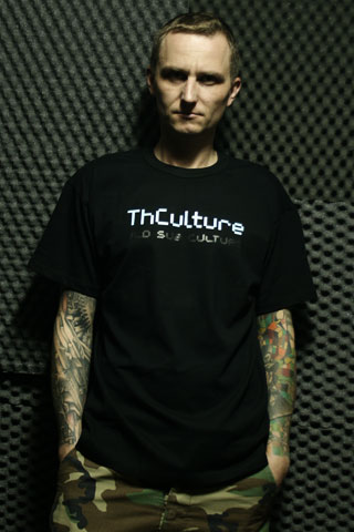 T-Shirt Man THCulture Old Sub Culture Black