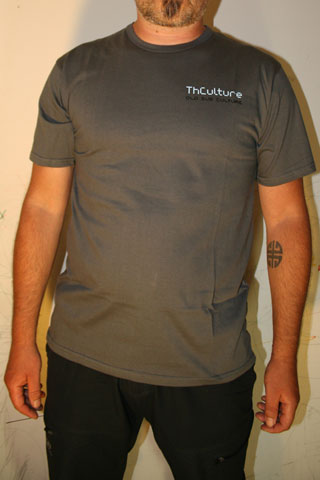 T-Shirt Man THCulture Old Sub Culture Gray Small