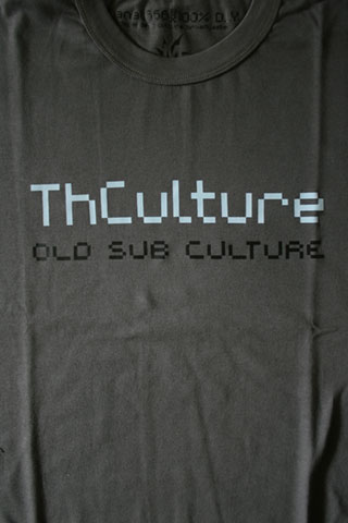 T-Shirt Man THCulture Old Sub Culture Gray