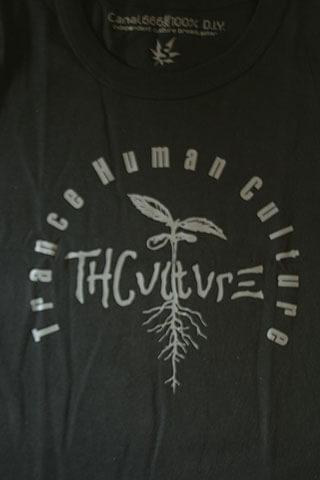 T-Shirt Woman THCulture Logo Big Black