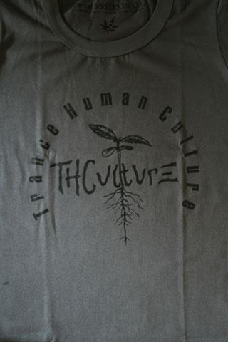 T-Shirt Woman THCulture Logo Big Gray