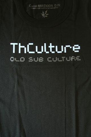 T-Shirt Woman THCulture Old Sub Culture Black