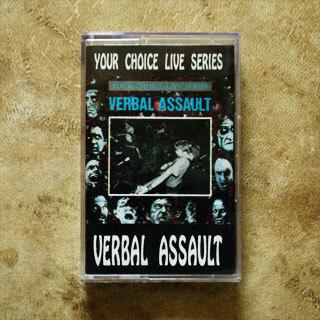 Kaseta Verbal Assault - Your Choice Live Series